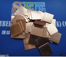 30pc*Copper Thermal Pads Heat Sink for Laptop Notebook GPU Chipset 15x15x0.8mm