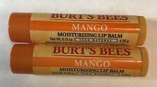 Burt's Bees Lip Balm Mango w/ Vitamin E  0.15 oz (2 Pack)