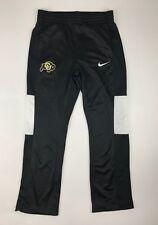 New Nike Women's M Colorado Buffaloes Rivalry Basketball Pants Black MSRP $55