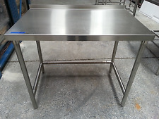 """Table , heavy duty commercial, 42""""x26"""" stainless, Kd ship, 5003990"""