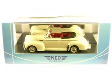 Neo 1 43 CHEVROLET Special Deluxe Convertible 1941 (beige)