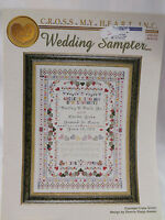 Wedding Sampler Cross Stitch Pattern Booklet By Cross My Heart 2003 Stepp-Aweau
