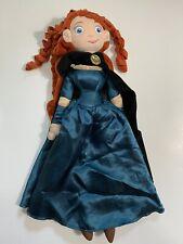 "Disney Store Merida From Brave Plush Doll 21"""