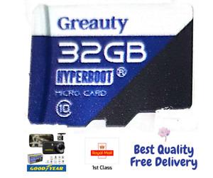 32GB TF Goodyear 1080P Dual Lens Car DVR Video Dash Cam Best Fit Memory Card