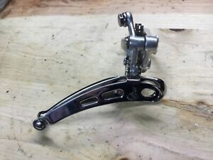Vintage Campagnolo Brev Camp Front Clamp on Derailleur  Double