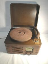 Vintage Sonora Tabletop Radio/Phonograph Player