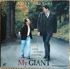 MY GIANT AC-3 LASERDISC Billy Crystal, Gheorghe Muresan, Steven Seagal LD