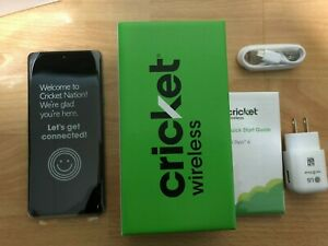 LG Stylo 6 LMQ730AM4 - 64GB - Blue (Cricket Wireless) (Single SIM) Brand New