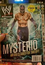 WWE Magazine Sept 12 Rey Mysterio Triple H AJ Lee Daniel Bryan September 2012