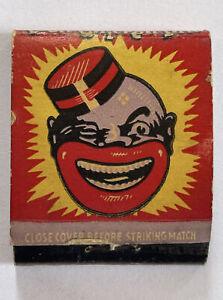 Vintage Matchbook Coon Chicken Inn Salt Lake City Match Box No Matches
