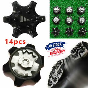 14pcs Screw Golf Shoe Spikes Cleat Fast Replacement Studs Champ Twist System