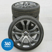 """NEW GENUINE RANGE ROVER SPORT 22"""" STYLE 514 GREY ALLOY WHEELS TYRES TPMS"""