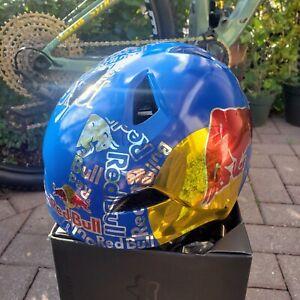 Fox bmx helmet  (Red Bull Art)