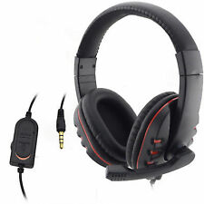 Stereo Headphones Wired Gaming Headsets With Mic Line Control for Ps4 Xbox One