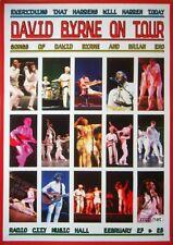 David Byrne Talking Heads Radio City Music Hall February 2009 Rare Poster