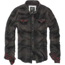 Camisas y polos de hombre marrón 100% algodón talla L