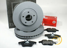 Ford Focus 3 III - zimmermann Discos de Freno Pastillas Para Eje Delantero