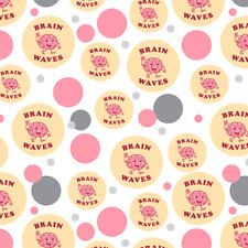 Brain Waves Waving Funny Humor Premium Gift Wrap Wrapping Paper Roll