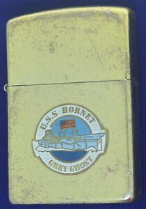 USN USS Hornet Grey Ghost Vietnam Not Zippo Lighter