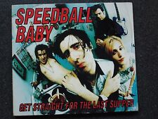 SPEEDBALL BABY - Get Straight For The Last Supper CD EP PCP-023 1995 Garage Rock