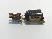 altes Holz Spielzeug, Postkutsche (G)932
