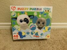 New Master Pieces Ty Beanie Boo's 48 piece Fuzzy Puzzle