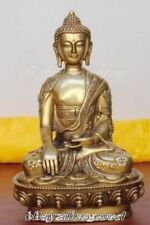 Tibet Tibetan shakyamuni bronze buddha antique excellent old bronze statue