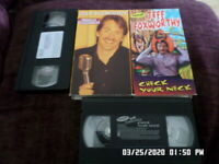 LOT of 2 Jeff Foxworthy (VHS) Check Your Neck & Totally Committed