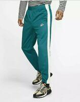 Nike Sportswear Tearaway Trousers Mens Geode Teal Active Wear BV2627-381(xxl)