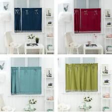 1 Panel Kitchen Curtain Tier Curtains Cafe Curtains Kitchen Window Drapes Rod