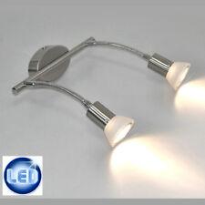 LED Iluminación de pared, techo lámpara cuadros Flexarm 2x3w W Aplique IP20