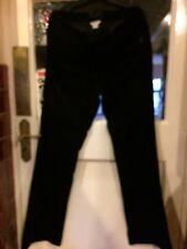 New Monsoon Black 5 Pocket Stretch Bootcut Corduroy Jeans,12 Long