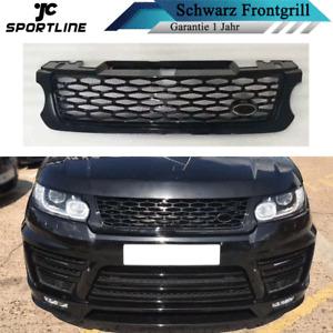 Passt für Land Rover Range Rover Sport L494 14-17 Grill Kühlergrill Schwarz ABS