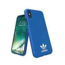 Fundas y carcasas lisos Para iPhone X color principal azul para teléfonos móviles y PDAs
