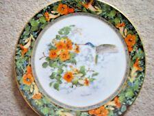 Royal Doulton Franklin Mint England porcelain plate,The Violet Hummingbird