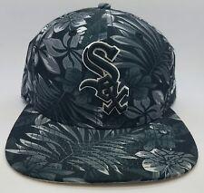 Chicago White Sox MLB Hawaiian Flower Print New Era 9FIFTY Snapback Hat – New