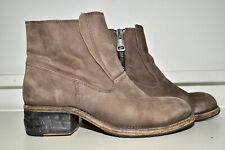 All Saints Allsaints Leather Zip Ankle Boots Women's 39