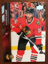 2015-16 UD SP Authentic Hockey Insert Andrew Ladd #518