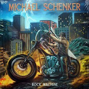 Michael Schenker - Rock Machine blue vinyl LP new & sealed