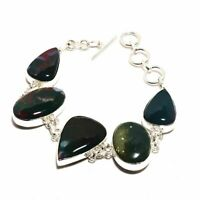 Bloodstone Ethnic Jewelry Handmade Bracelet 37 Gms BB-2405