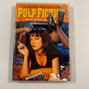 Pulp Fiction (DVD 2005 2 disc-set) 1994 film Uma Thurman Region 4
