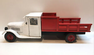 """Rare Antique 1930's Buddy L Steel Jr Dairy Truck 24""""  Repainted"""