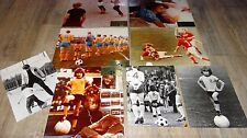TOM FOOT ! fimpen  rare photos cinema luxe + presse football suede 1973