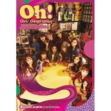 Girl's Generation-[Oh!] 2nd Album CD+PhotoBook+PhotoCard+Gift K-POP Sealed SNSD
