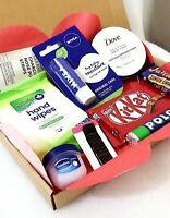 Mini Pamper Hamper Letterbox Gift Box Ladies Friend Mum Sister Valentines gift