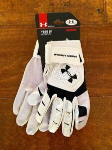 *NWT* Under Armour Yard IV Men's Medium Baseball Batting Gloves $40 MSRP