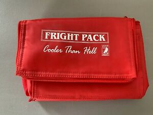 "Fright Pack Promotional Personal Cooler Than Hell 8""x6""x6"" Anchor Bay Red NEW"