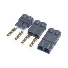 10pcs(5 pairs) Traxxas/TRX Plugs Lipo/NiMh Brushless ESC Battery RC Connector
