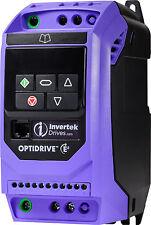 Invertek Moteur Onduleur 0.75 kW IP20 3 Phase 3 Phase Out ODE-3-140022-3F12