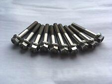 10 x Suzuki SV650 Titanium Generator Cover Bolts SFV SV 650 1999-2002